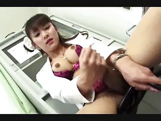 Lingerie Asian Masturbating