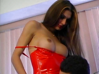 A Transsexual Beauty Gets Banged