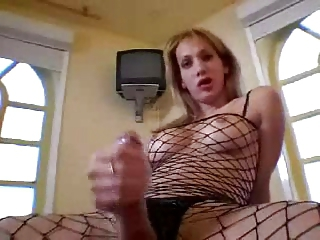 Solo In Fishnets