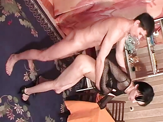 skinny dark haired transvestite part 5