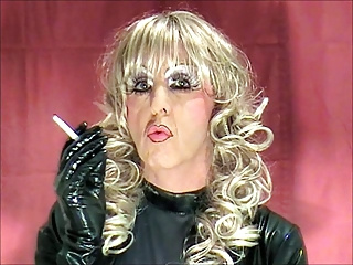 smoking tranny whore mandy