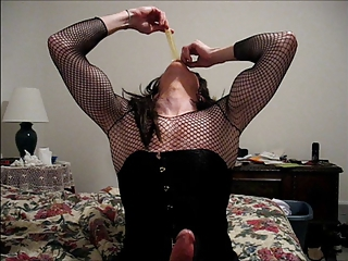 Fishnets and Cum
