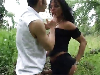 Amateur Latina Outdoor