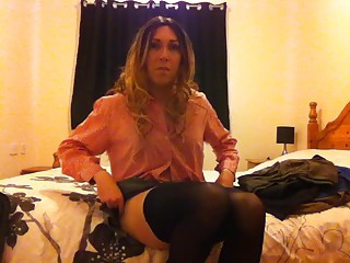 themidnightminx xxx bedroom stripping tranny school uniform