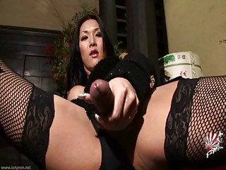 Masturbating Asian Solo