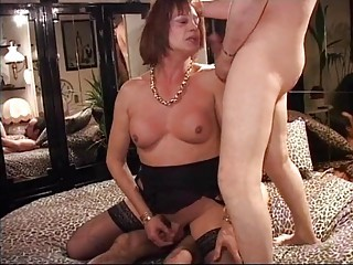 Video from: xhamster | Mature Italian Shemale Thressome
