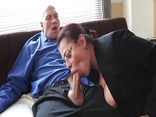 Office Older Blowjob