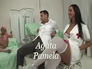 Threesome Uniform Latina