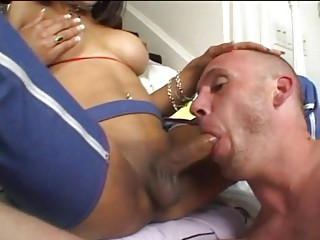 shemale fuck deep  gay throat
