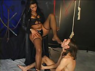 Foot Worshipping Transsexuals 3 - Scene 1