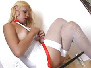 Uniform Latina Teen