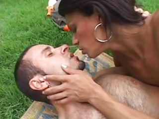 Kissing Outdoor