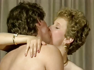 French Kissing Vintage European French French Milf