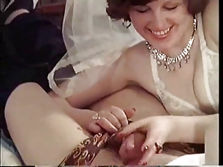 Bride Handjob European Danish European