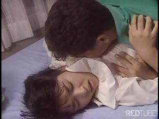 Cute Japanese girl is getting nailed..