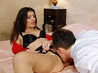 Video from: pornhub | Vintage french star Karen Lancome in..