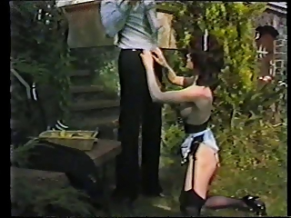 Pornstar Vintage Maid Outdoor