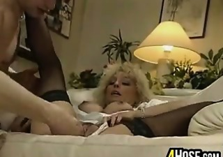 immodest blonde getting fisted
