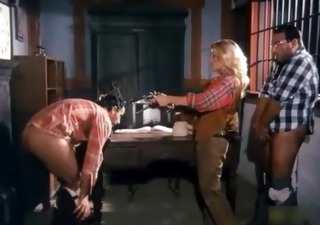 wild west double penetration in the saloon ((fyff))