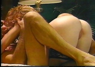 hot redhead rides him like a horse