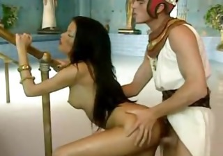 Cute Long Hair Doggystyle Cute Brunette Egyptian