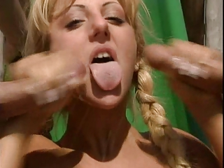 Swallow German Blonde Blonde Teen Cumshot Teen Cute Blonde