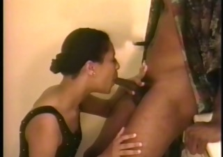 girl sucks guys cock on the bathroom counter