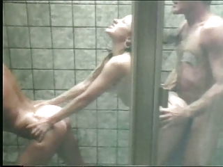Showers Threesome Vintage Son Threesome Hardcore