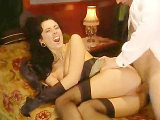 Vintage Brunette European European Italian Stockings