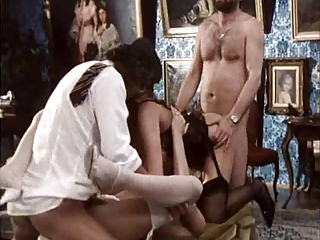 Groupsex Hardcore Lingerie European French French Milf