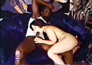 Vintage Blowjob Interracial