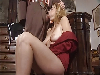 MILF Pornstar Vintage Blowjob Milf European French