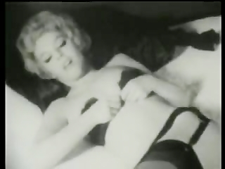1950s striptease stag film