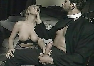 "priest bonks alba foster: scene from ""il confessionale"""
