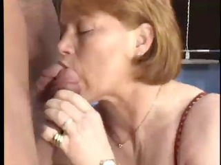 German Blowjob Mature Blowjob Mature European German