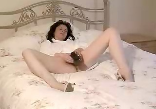British Solo Toy Amateur British British Milf