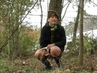 Voyeur Outdoor Forest Milf Anal Outdoor