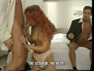 hot steamy double penetration for juvenile hungarian girl