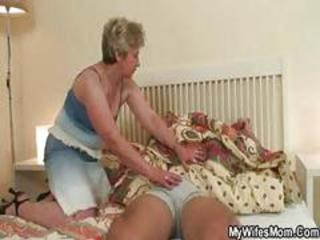 Wife comes home to catch her husband fucking her mom and is pissed