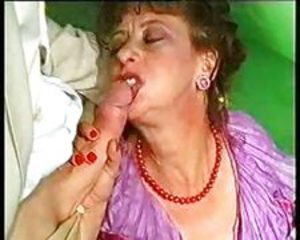Two Old Granny Pussies Pumped And Fucked