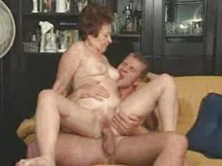 Handsome Guy Fucking Dirty Granny