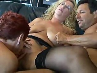 Threesome Licking Natural