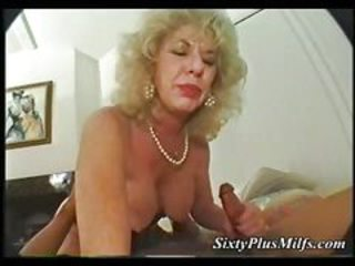 Interracial granny fucking