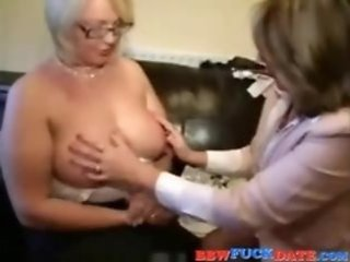 Video from: tnaflix | bbw   busty   chubby   cougar   fetish   lesbian   mature