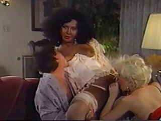 Vintage Threesome Blowjob