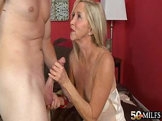 Mature Woman Connie Is Addicted To Anal Sex