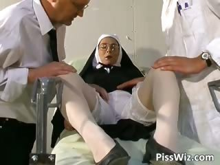 Nun Threesome Uniform Glasses Mature Mature Ass Mature Stockings