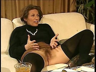 Hairy Vintage Pussy Dirty Family Stockings
