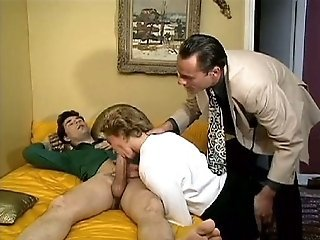 Cuckold French Threesome Big Cock Blowjob Blowjob Big Cock European