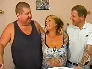 British Threesome European Amateur British European